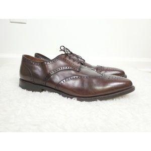 Allen Edmonds Hinsdale Wingtip Derby Shoes Size 15